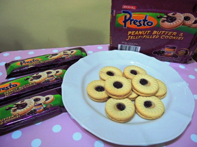 Jack 'n Jill Presto Peanut Butter and Jelly Cookies
