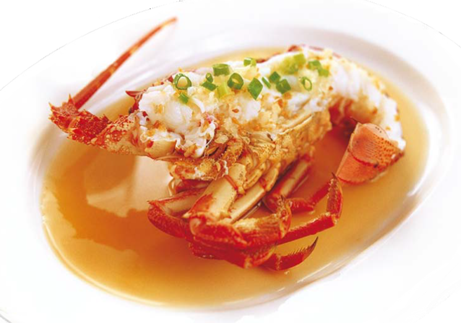 Available baked, deep-fried or steamed, the exquisitely prepared Rock Lobster satisfies any crustacean lover