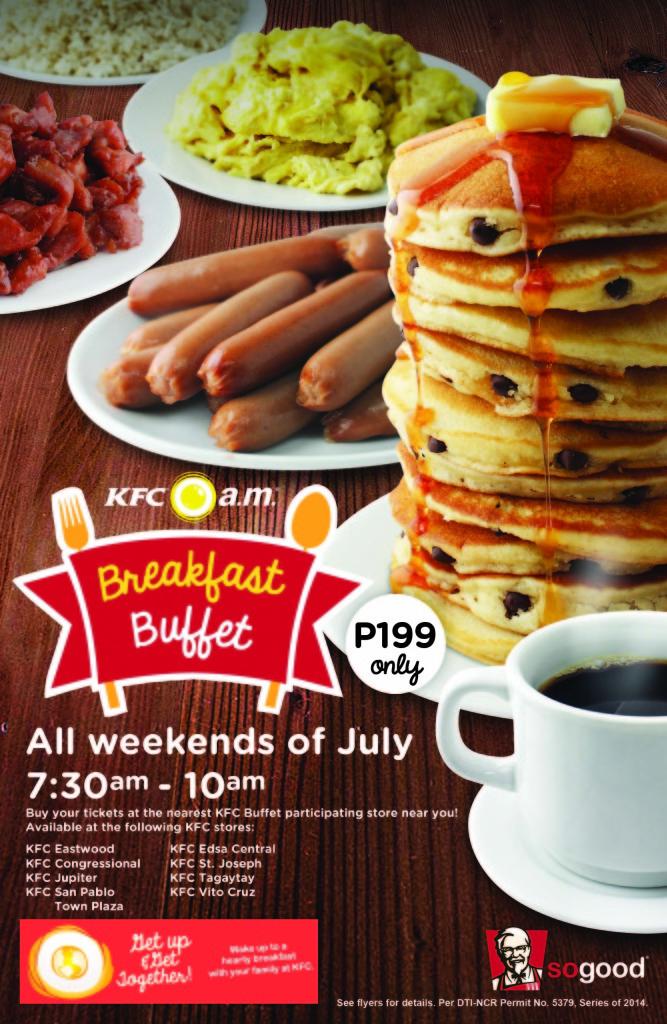 Breakfast Buffet Flyer