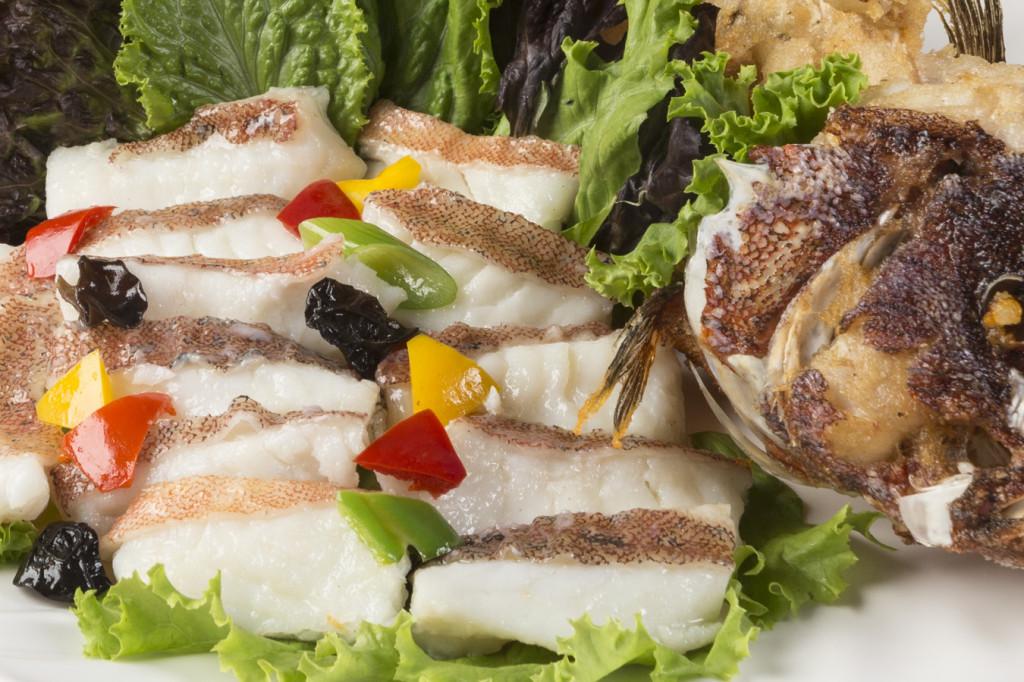 Delicately sliced and lightly seasoned, Stir-fried Lapu-Lapu is one of the recent bestsellers at Jade Garden