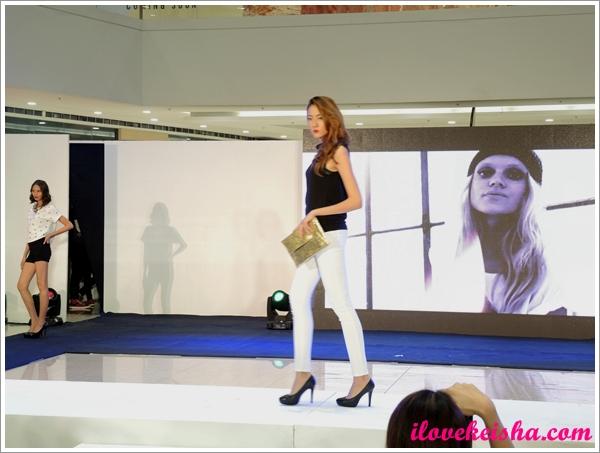 SM #MadAboutDenim Fashion Show in Megamall