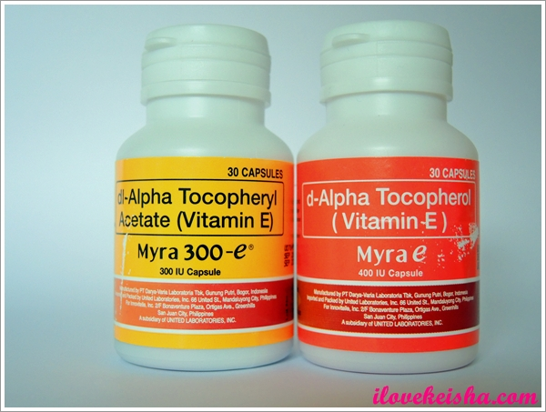 Myra Vitamin E: Myra Holistic Skin Care