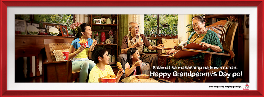 Jollibee Grandparent's Day