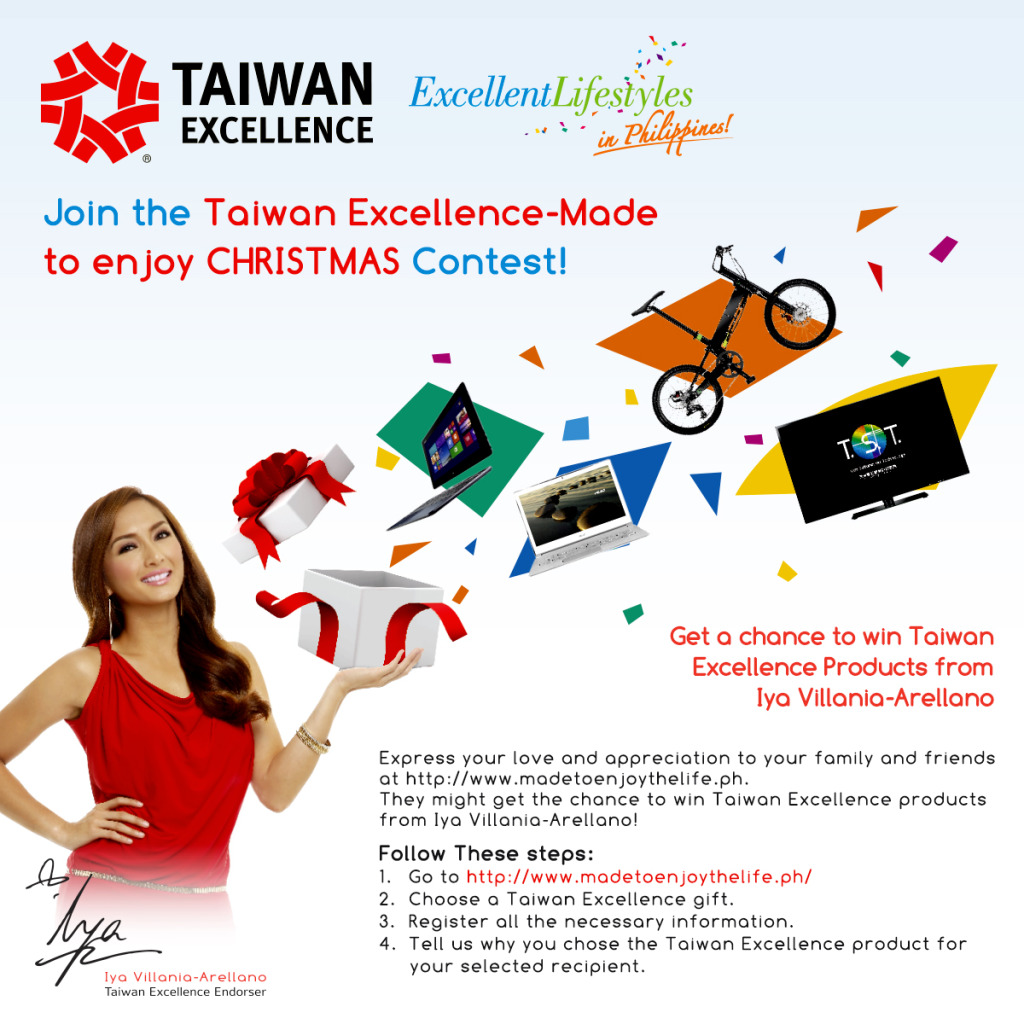 Taiwan Excellence Christmas Contest 2