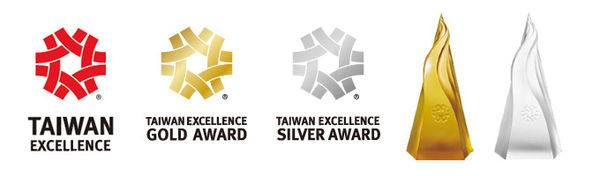 Taiwan excellence gold and silver award