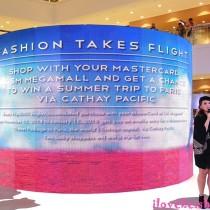 SM Megamall X MasterCard Present Fashion Takes Flight