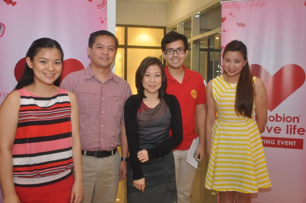 Ginger Arboleda_ Dr. Gio Barangan -Medical Director, Merck_ Debbi Go - Marketing Director, Merck_ Jio Igual and Joy Cabrera - Brand Managers, Sangobion