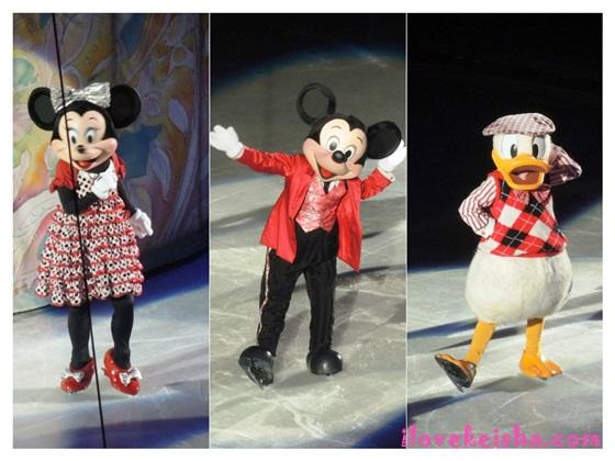 Disney on ice mickey minnie donald