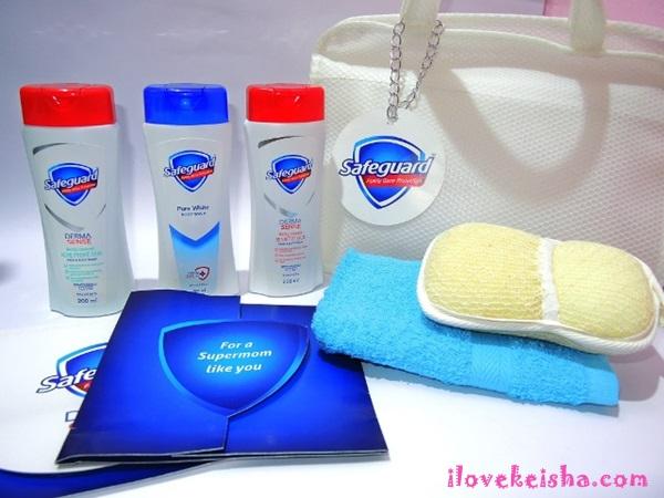 safeguard derma sense and pure white body wash review