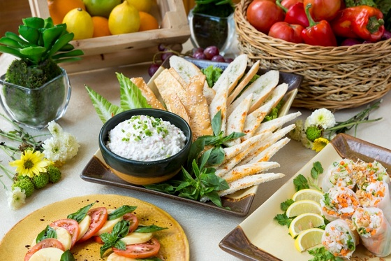 RHO RCafe - Mom's Country Garden Luncheon,  Antipasto