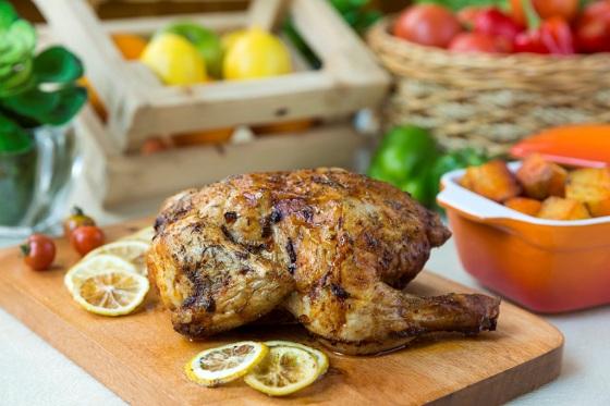 RHO RCafe - Mom's Country Garden Luncheon, Lemon Chicken