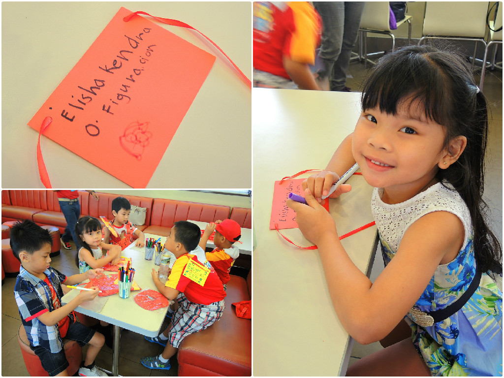 JKC Talent Camp Name Tag Making