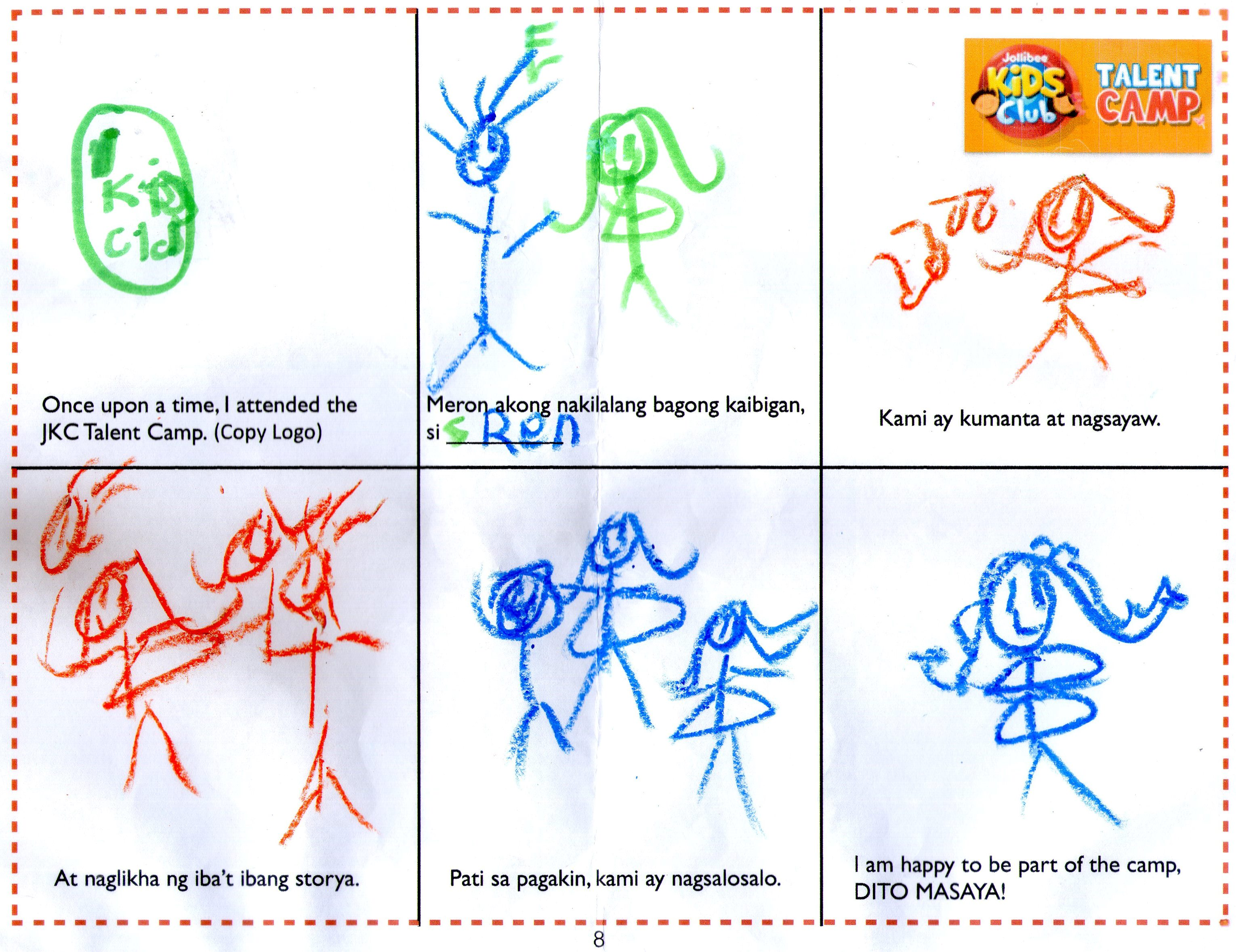 JKC Talent Camp Storyboard About A Friend