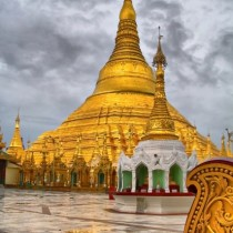 The most sacred pagoda in Myanmar, the Shwedagon Pagoda is a shining symbol of the country's Buddhist faith, and decked in gold and diamond