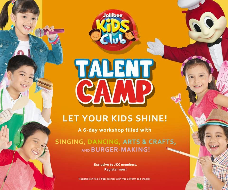 jollibee kids club summer camp