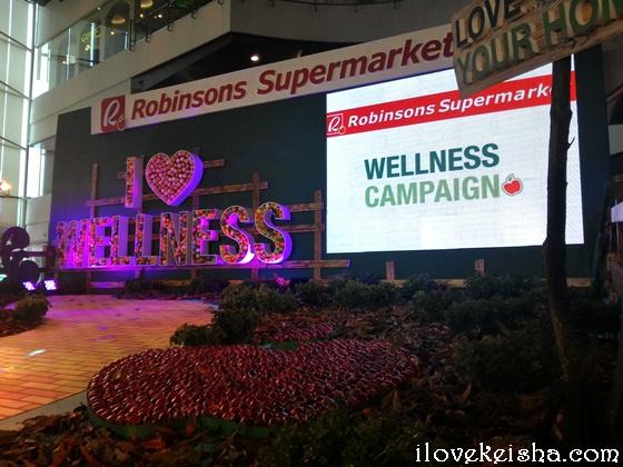 Robinsons Supermarket Wellness Campaign