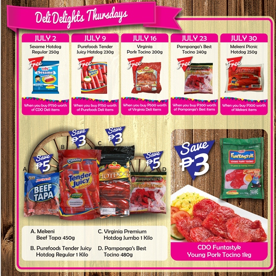 Robinsons Supermarket 2nd Freshtival 2015 Deli Delight Thursdays