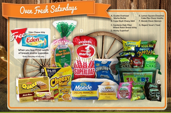 Robinsons Supermarket 2nd Freshtival 2015 Oven Fresh Saturdays