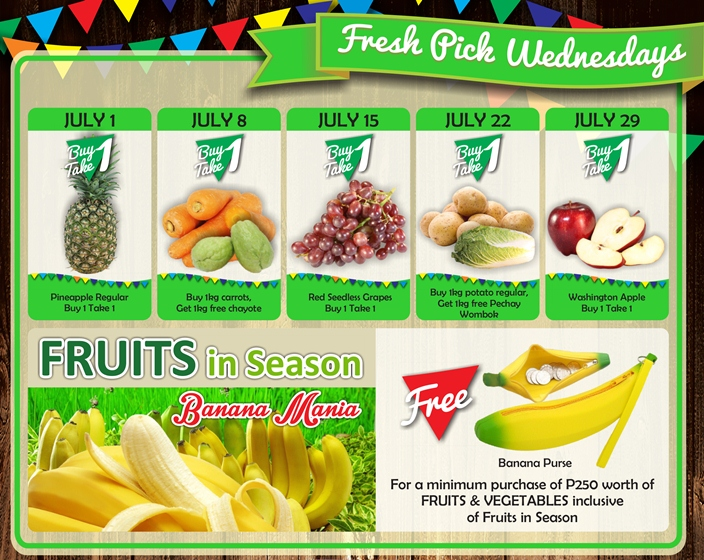 Robinsons Supermarket 2nd Freshtival 2015 Fresh Pick Wednesdays