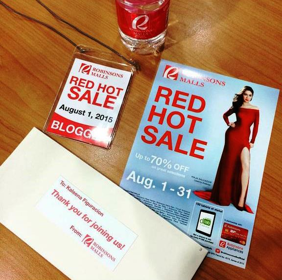 Robinsons Red Hot Sale