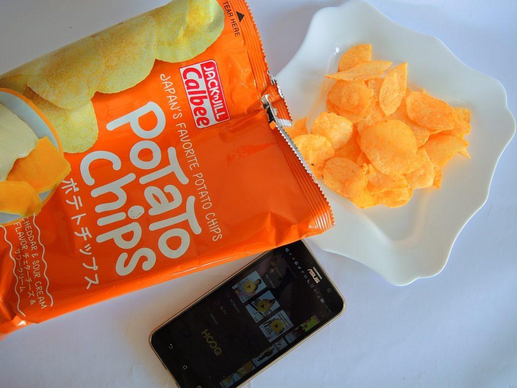 Calbee Potato Chips 3