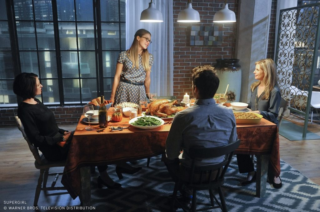 Melissa Benoist as Kara Danvers in Supergirl