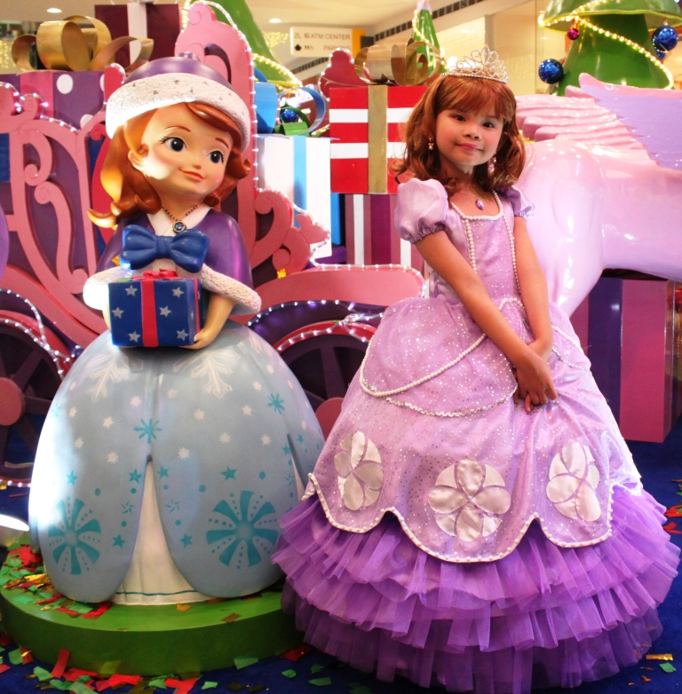 Keisha as Sofia The First