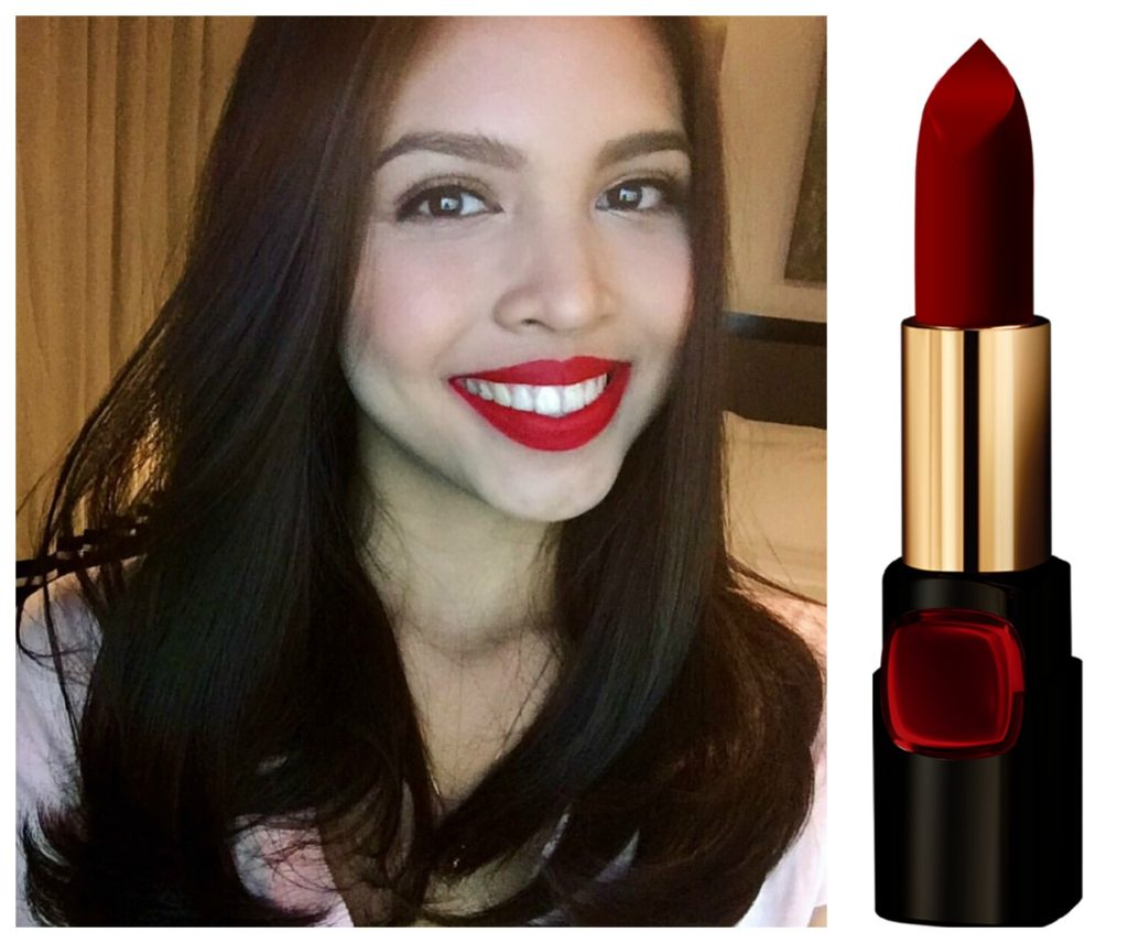 Maine Mendoza Color Riche in Pure Rouge