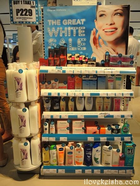 Watsons Great White Sale 19