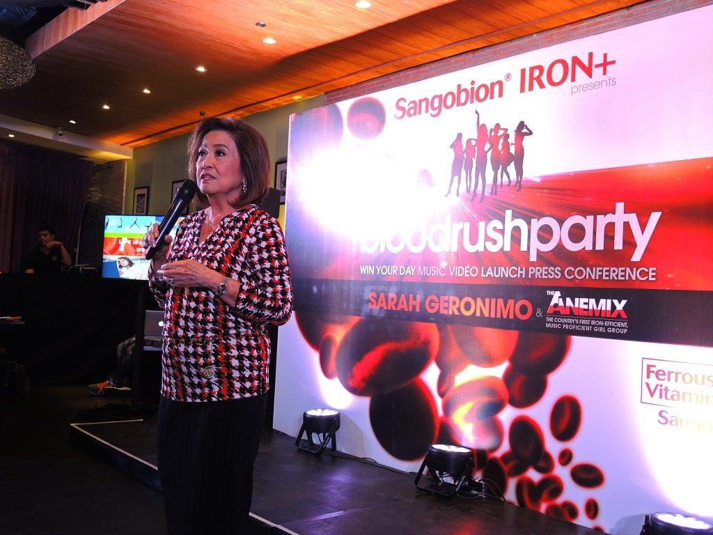 Sangobion Music Voideo Launch 1