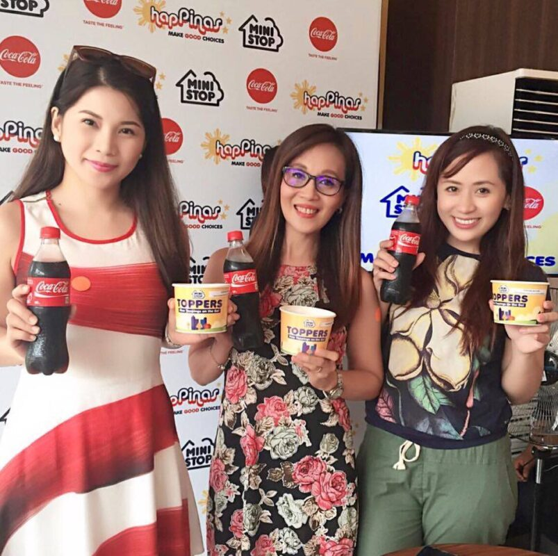 Fab Four Ministop x Coca-Cola Launch