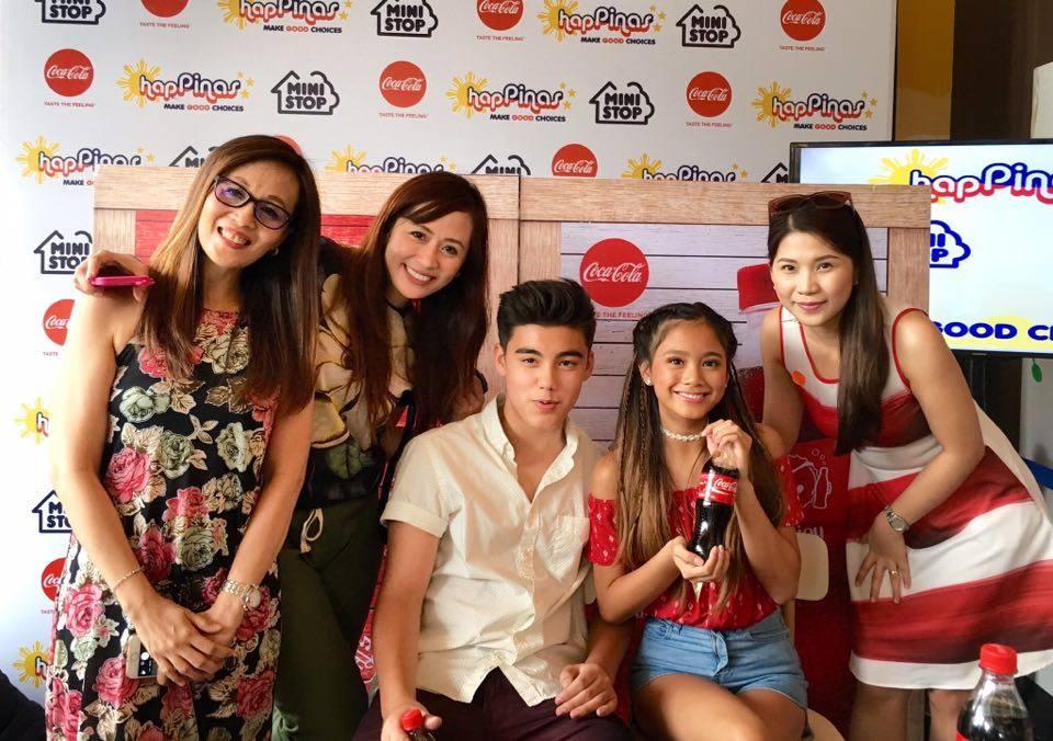 Ministop X Coca-Cola Partnership Fab Four