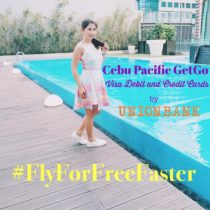 KayeFig Fly For Free Faster Cebu Pacific GetGo UnionBank