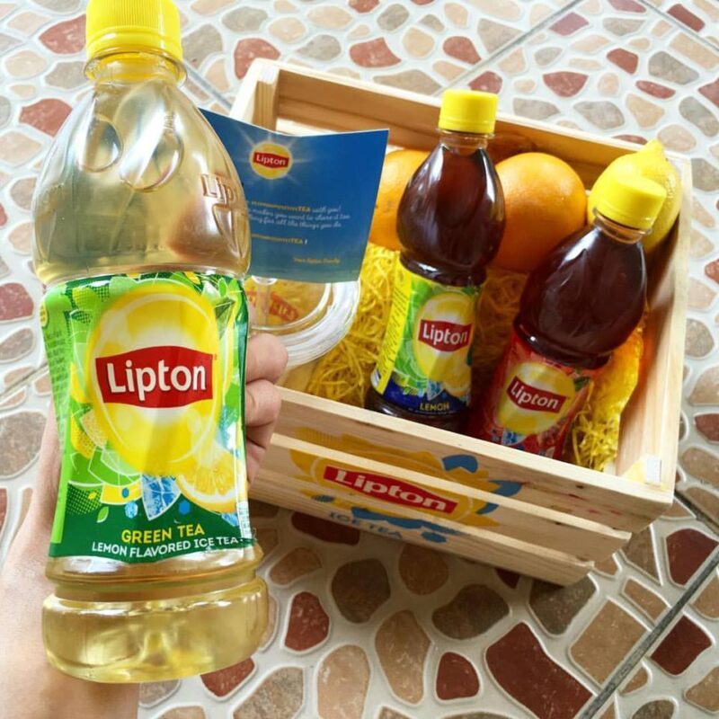 Lipton Ice Tea Bottle